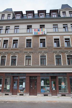 Hausfront Kunterbunte19